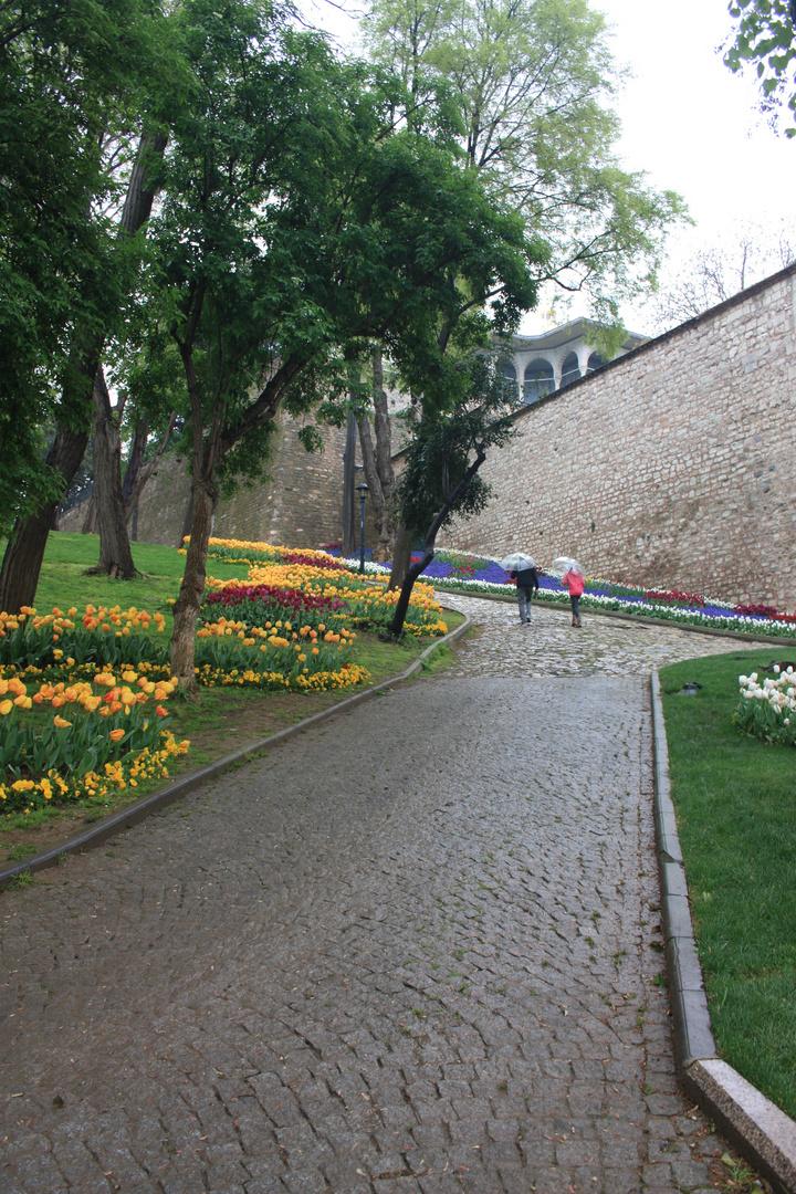 a rainy day ın Istanbul