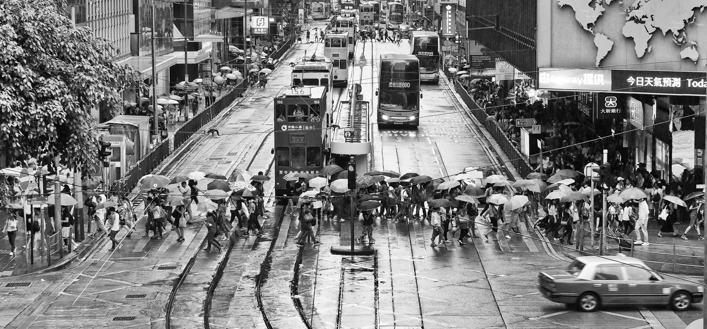 A Rainy Day In Hong Kong