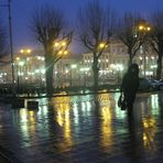 a rainy evening