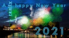 a really happy new year 2021