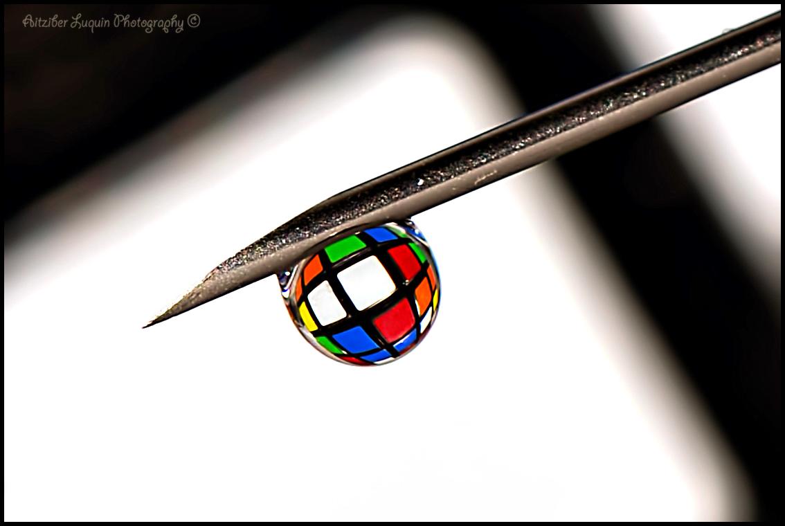 A Rubic in a drop.....