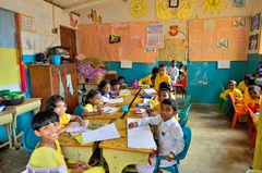 A school in Lanka.