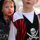 a small pirat and a small devil