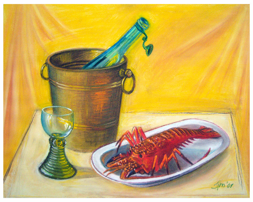 - A still life for the thirsty -