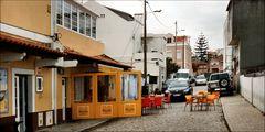 A street of Trafaria