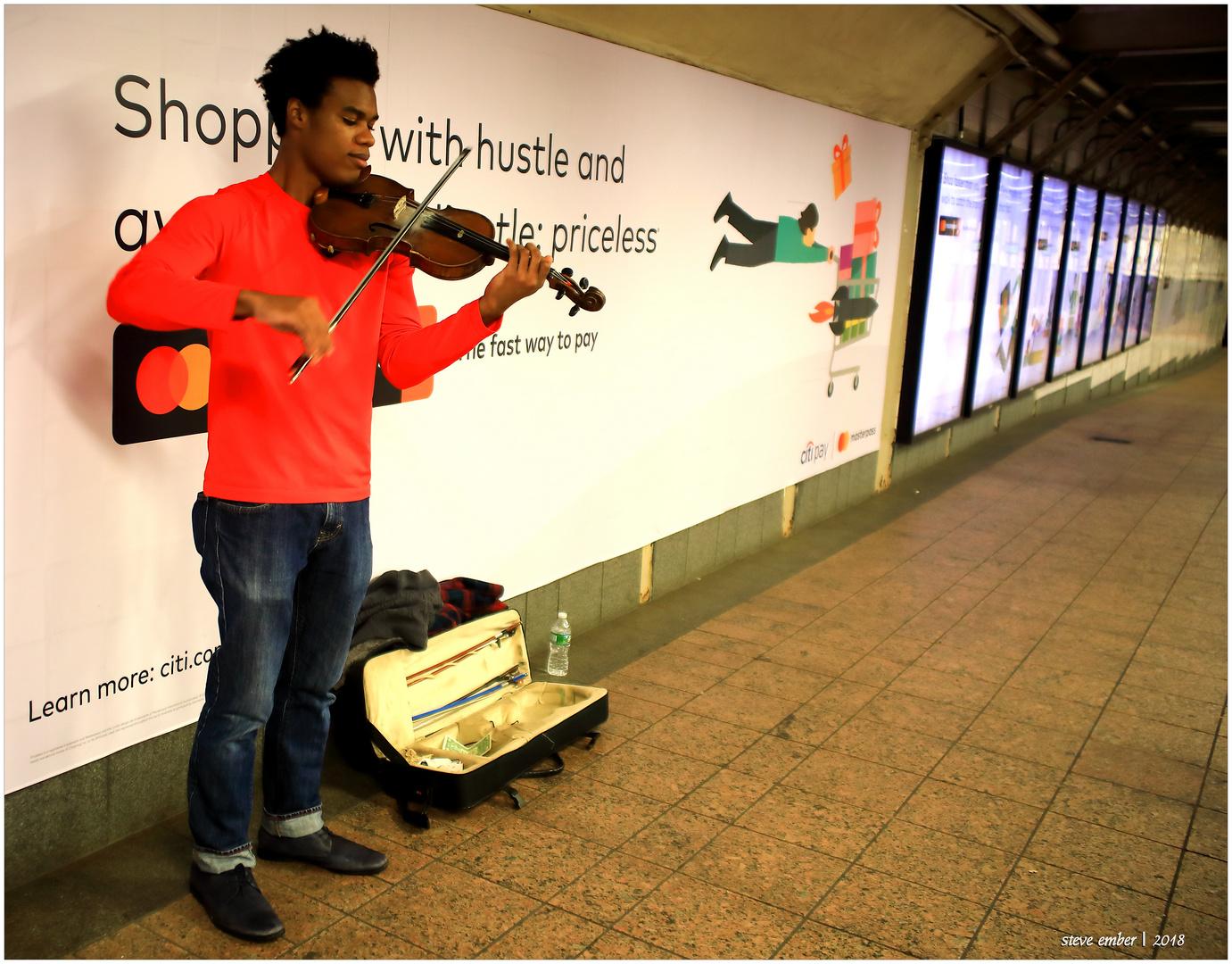 A Subway Serenade...