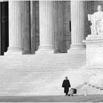 A Supreme Court Moment - from 'Scenes of Washington Summer'