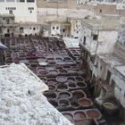 A Tannery in Fes