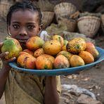 A tasty fruit tray