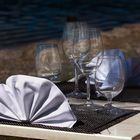 A tavola in riva al lago
