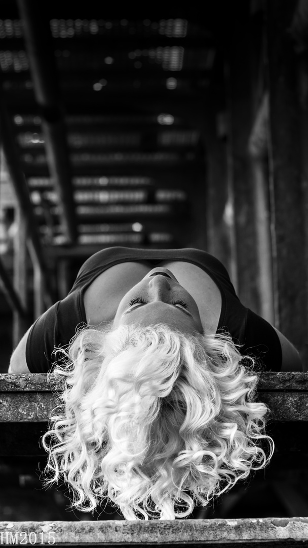 ... a touch of marilyn ...