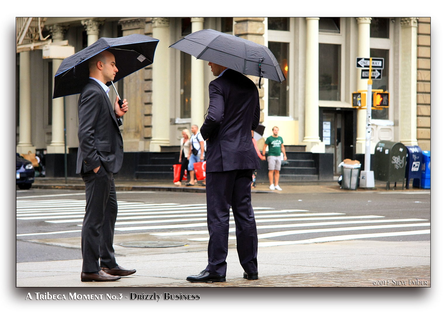 A Tribeca Moment No.3 - Drizzly Business
