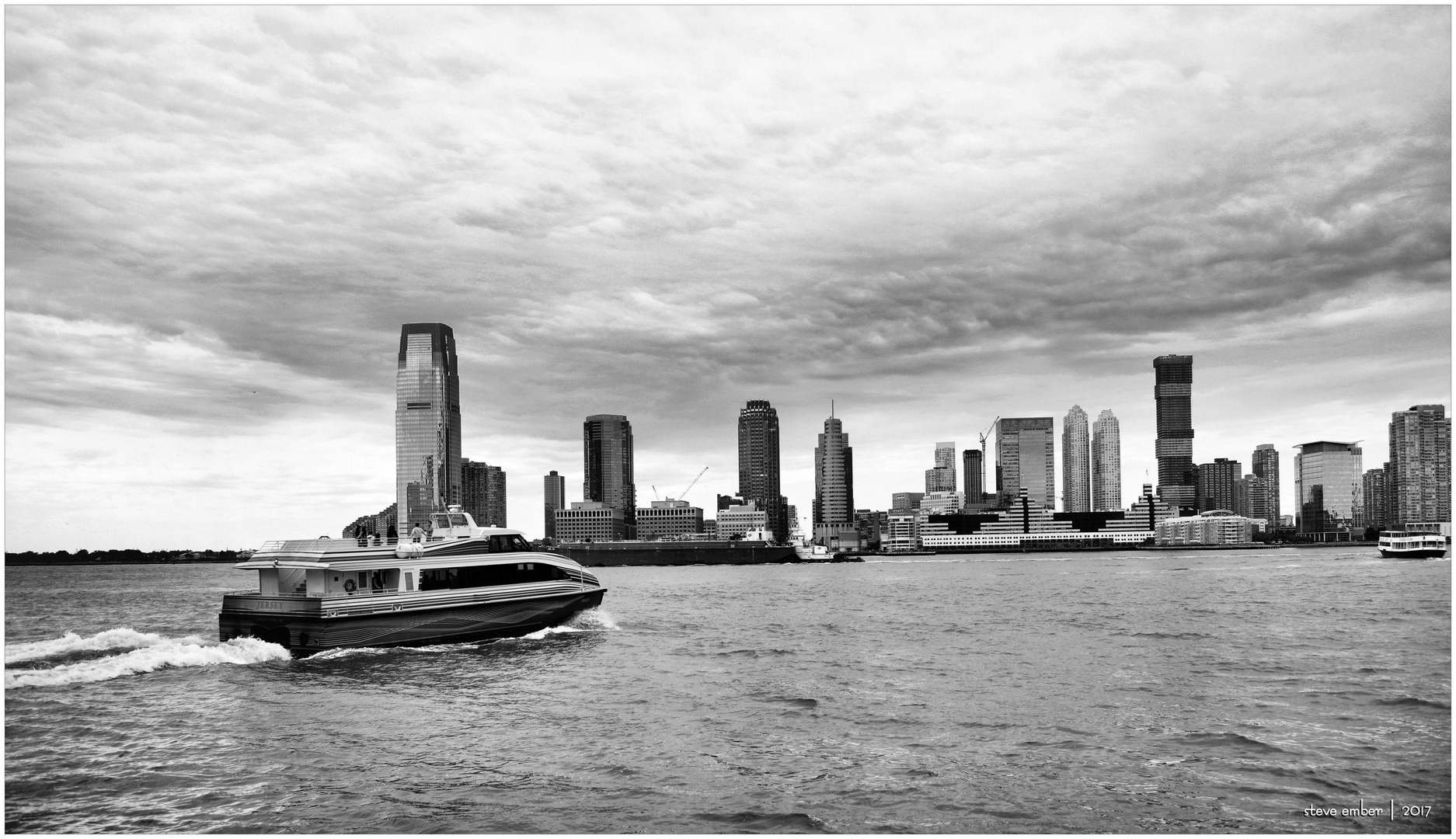 A View Across the Hudson...