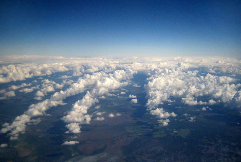 A view from the clouds