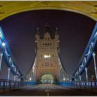 A view through the Tower Bridge....