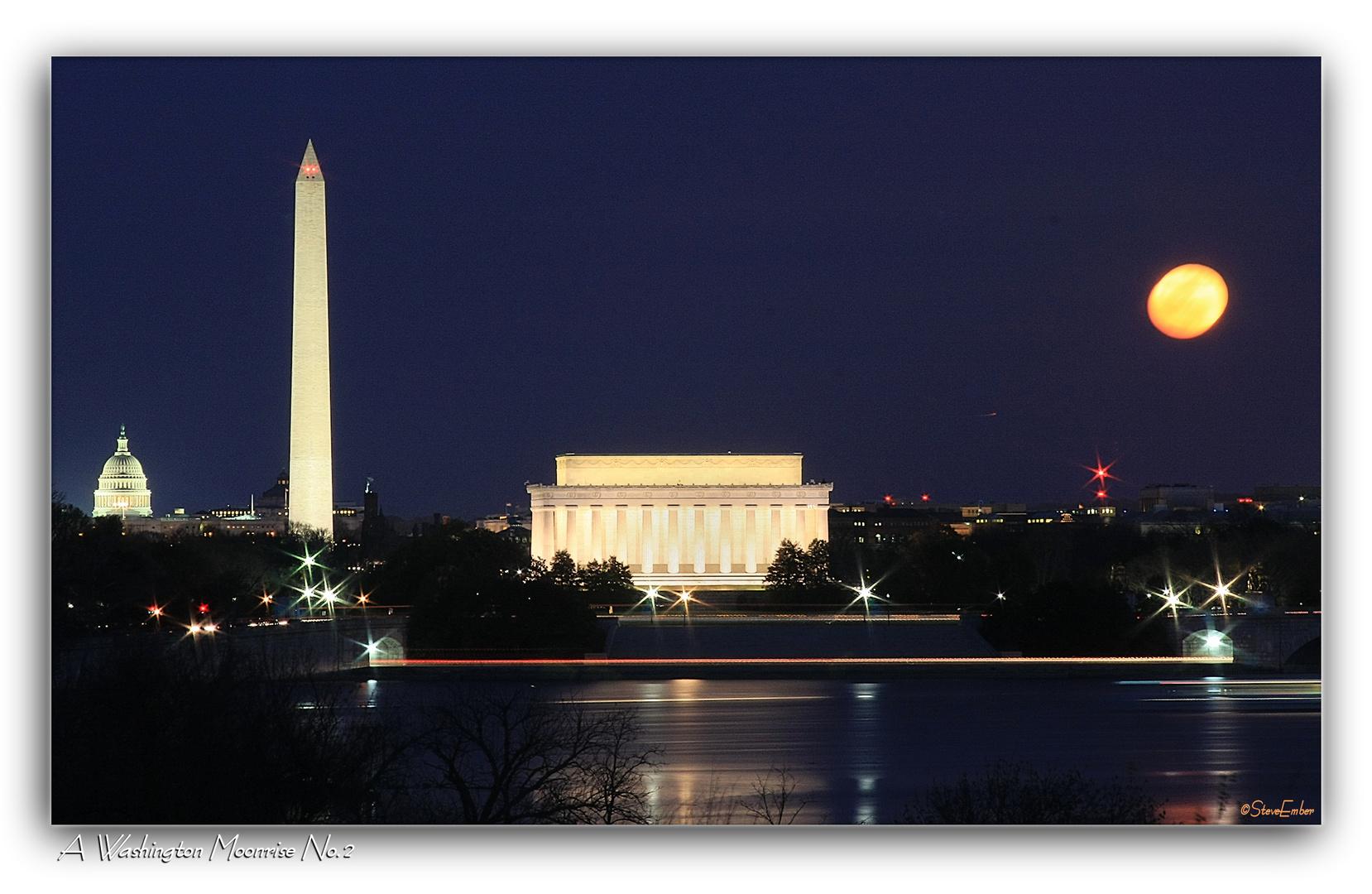 A Washington Moonrise No.2