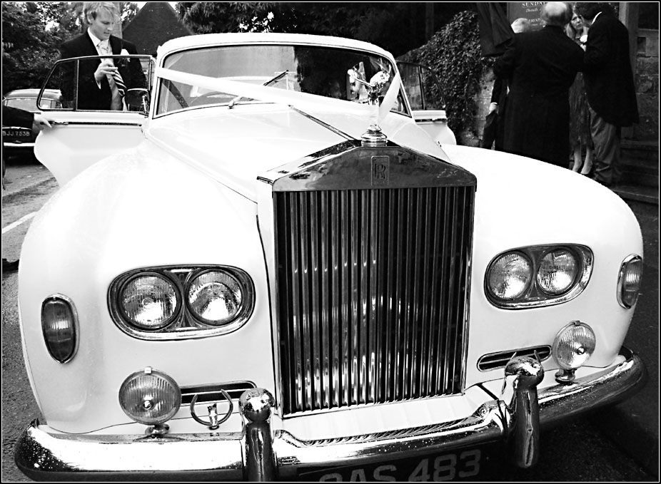 A Wedding in Black and White - I