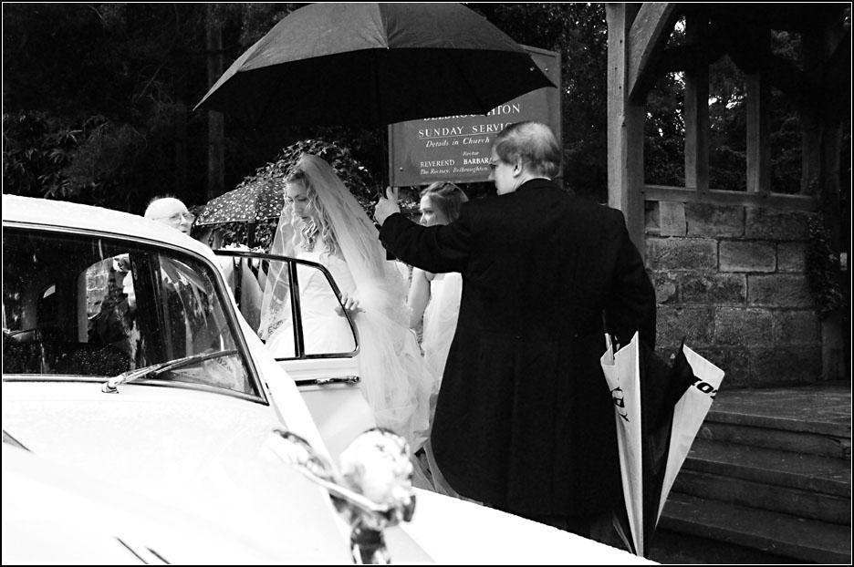 A Wedding in Black and White - II