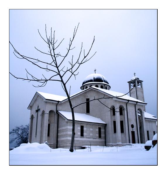 a winter in sofia