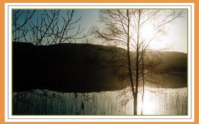 A Winter Sun Sets....