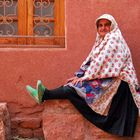 a woman from Abyaneh-IRAN