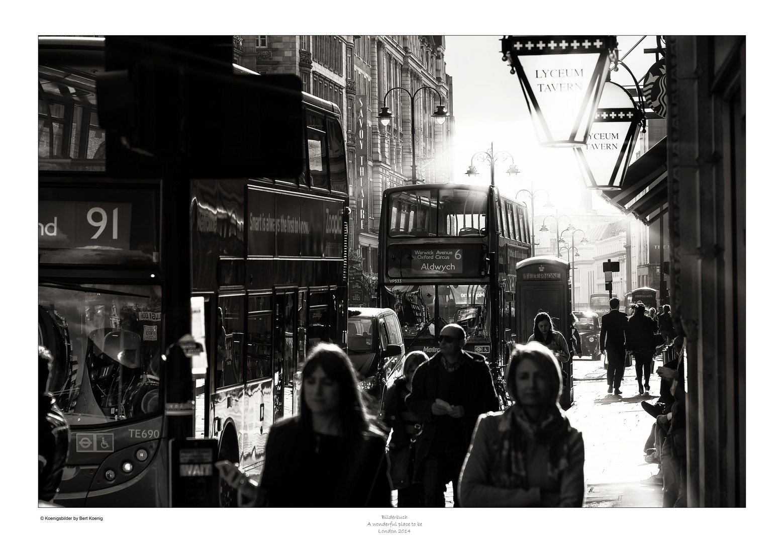 A wonderful place to be - Bus To Aldwych