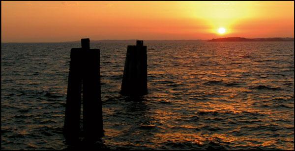 A wonderful sunset...