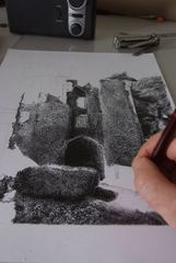 A Work In Progress Warwick Castle Circa 1900