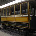 a XiX century horse tram