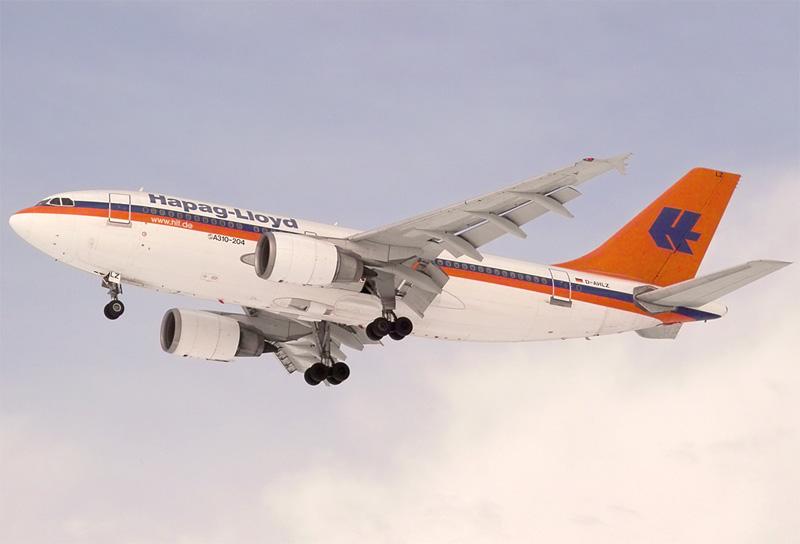 A310 Hapag Lloyd Sonderflug nach SXF