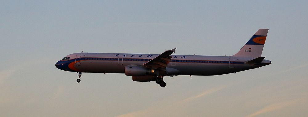 A321-231 Lufthansa Retrojet