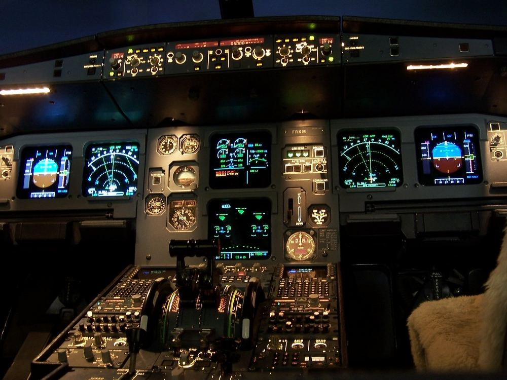 A321 Full Flight Simulator