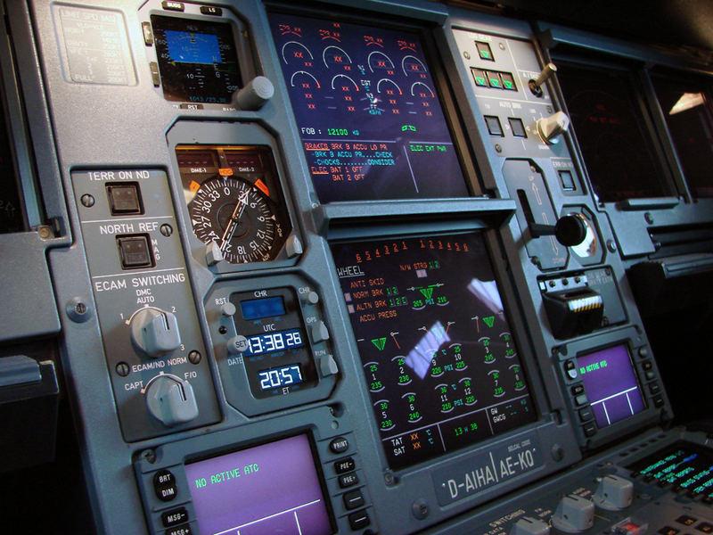 A340-600 Cockpit