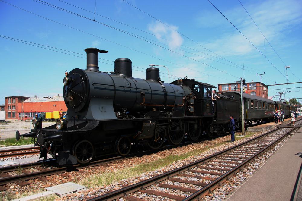 A3/5 705 im Bahnhof Arbon
