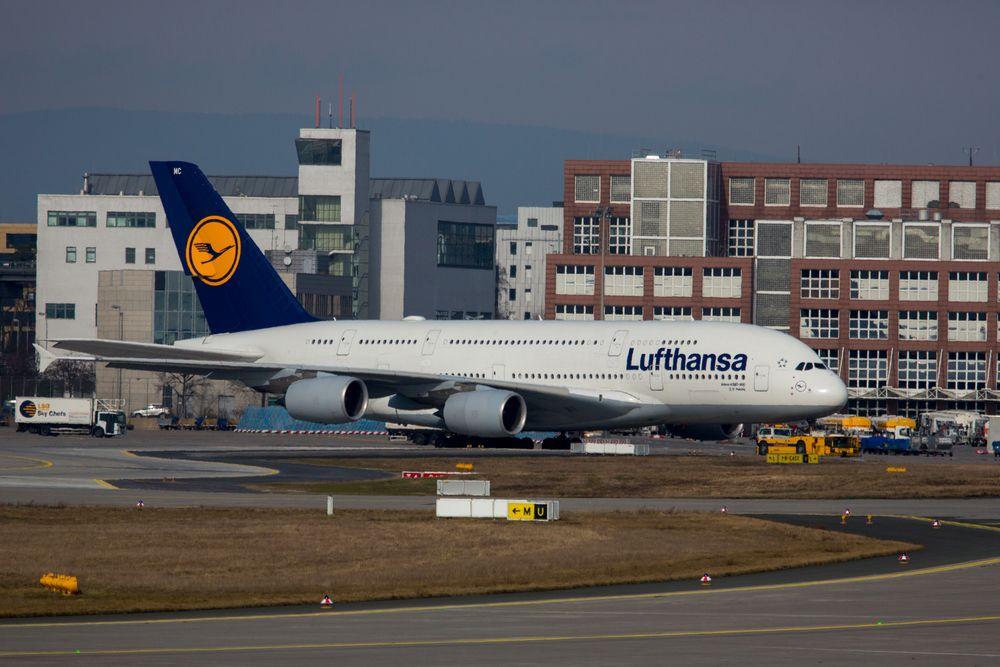 """A380-800 der Lufthansa """"Peking"""""""