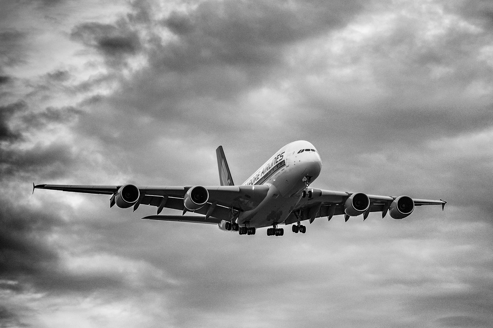 A380 Anflug #1