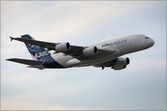 A380 erstmals in München