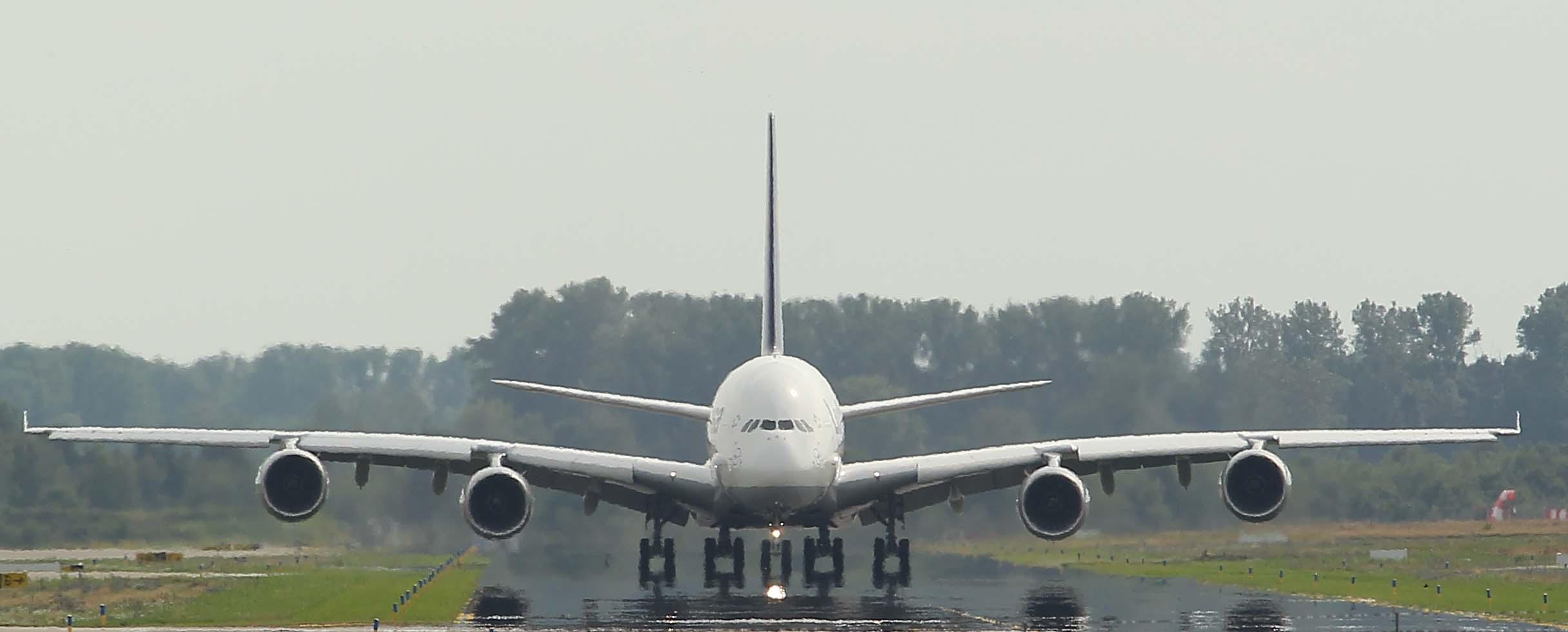 A380 Hitzeflimmern