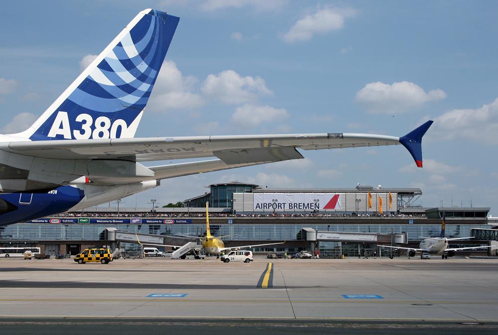 A380 in BRE
