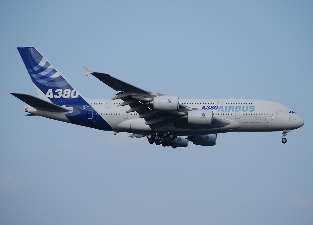 A380 in CGN!!!