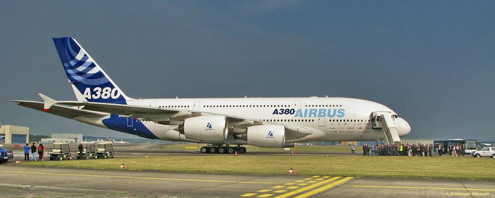 A380 in Köln/Bonn