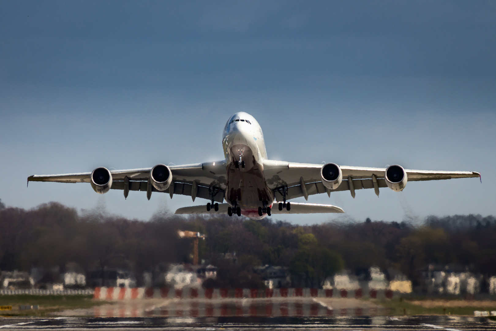 A380 Take off....