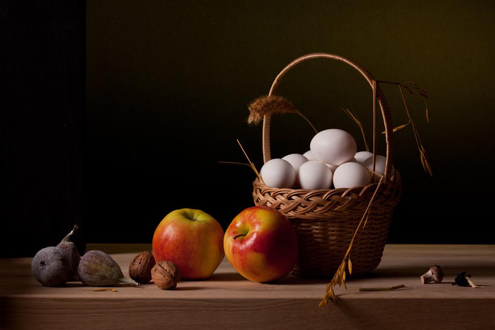 Korb mit Eiern von bernardroland
