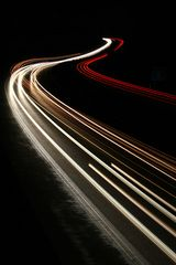 A4 bei Stadtroda @ Night