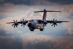 A400M im Landeanflug