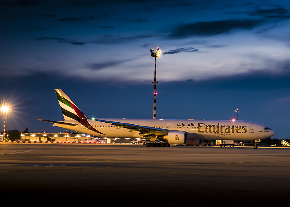 A6- EBM Emirates Boing 777-31H