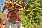 La donna con la legna by Marina Tomasi
