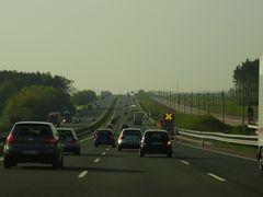 A9 mit ICE Strecke