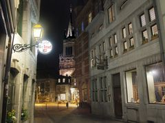 Aachen bei Nacht