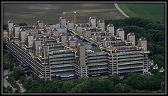 Aachener Klinikum aus der Luft aufgenommen.